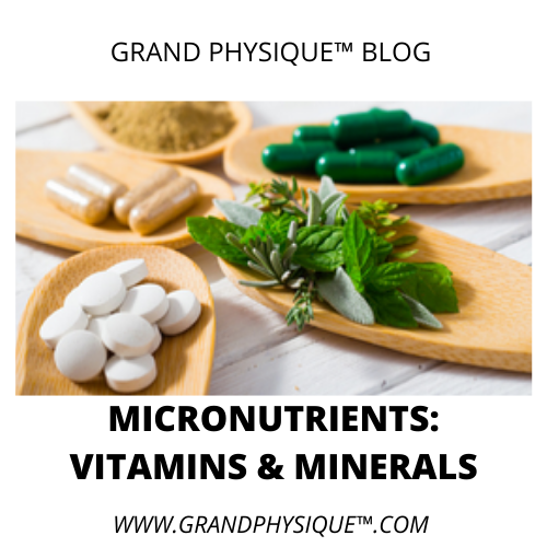 importance of vitamins and minerals _ and RDA